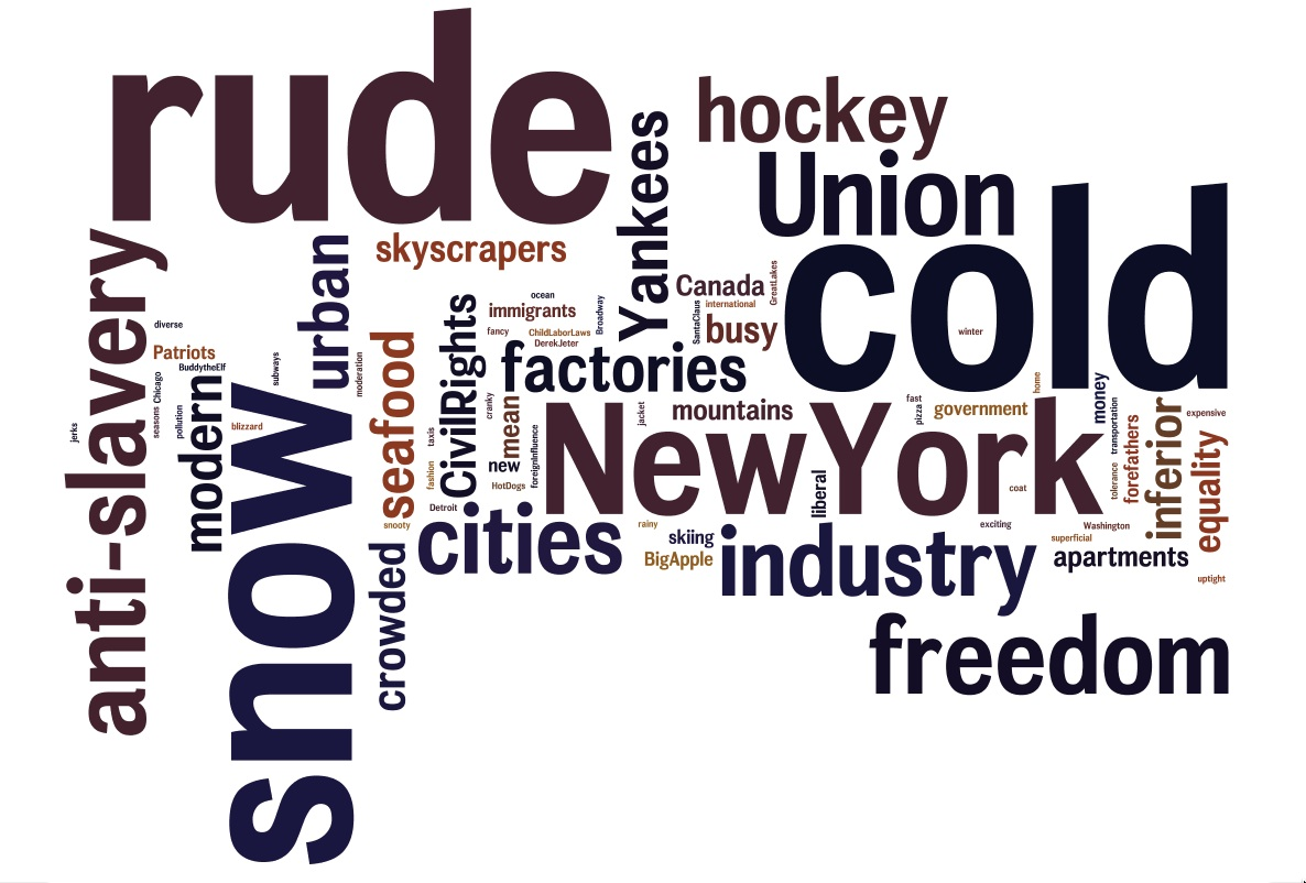 North wordle 2015